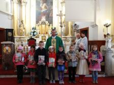 Laureaci Konkursu Różańcowego Dzieci