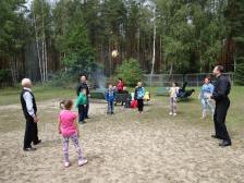 Dzieci komunijne u Matki Bożej w Loretto