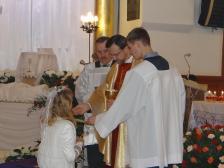 Wielki Czwartek, rocznica I Komunii św.