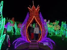 Królewski Ogród Światła przy Pałacu w Wilanowie