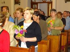 Zawierzenie parafii Matce Bożej Częstochowskiej
